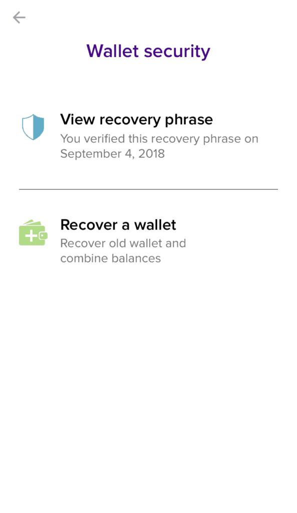 Abra Wallet Sicherheit