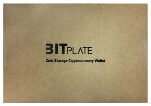 Bitplate Cold Wallet - Verpackung