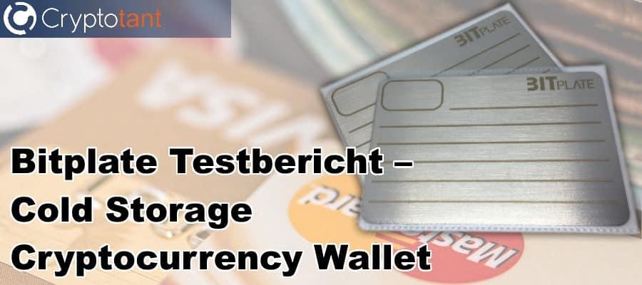 Bitplate Cold Wallet - Testbericht