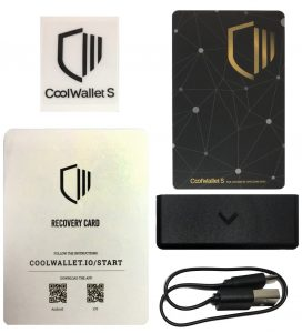 CoolWallet S - Lieferumfang