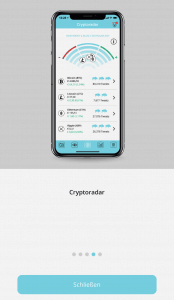BISON App - Cryptoradar Tutorial