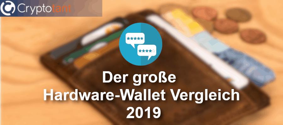 Hardware-Wallet Vergleich 2019