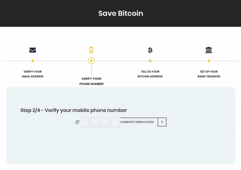 Bittr - Handynummer verifizieren