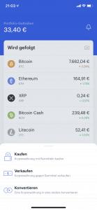 Coinbase -  iOS App